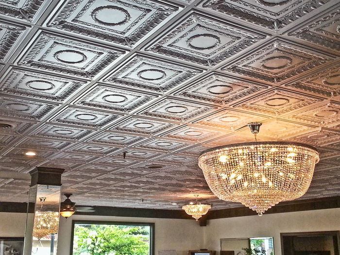 ceiling design with regal tiles