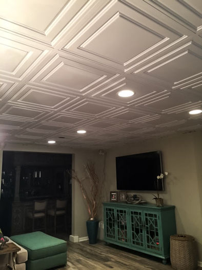 2x2 Oxford Basement Ceiling Tile