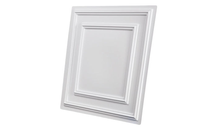 Side direct mount ceiling tiles