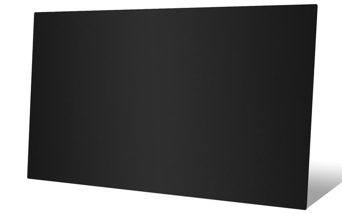 2x4 Black Ceiling Tile - Profile