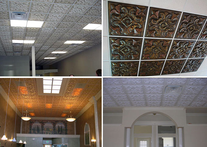 Customer Photos of 2x2 Florentine Ceiling Tile