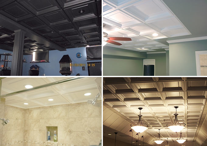 Customer Pictures of Madison Ceiling Tile
