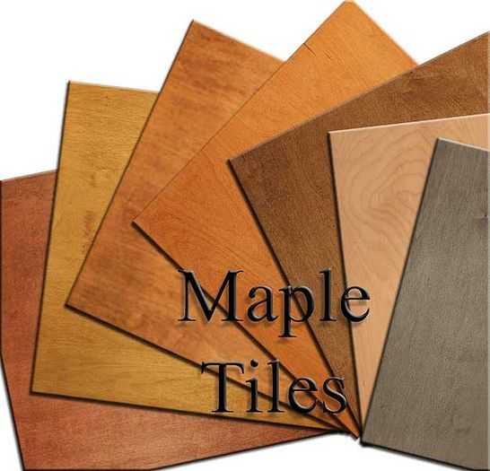 Maple Wood Ceiling Tile