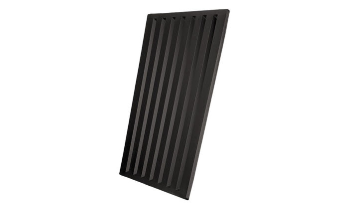 Profile of Southland Black 2x2 Ceiling Tile