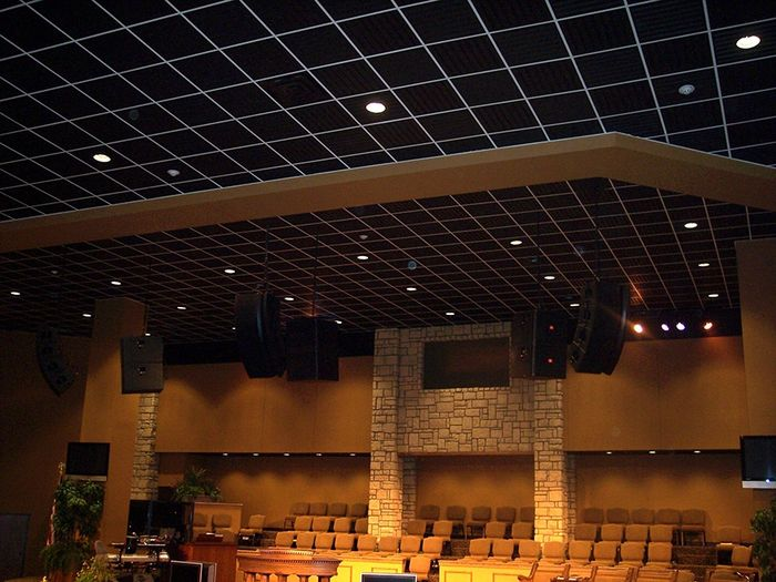 Black Southland for Church Ceiling Tiles.