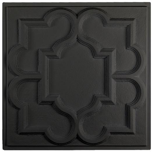 Victorian Black Ceiling Tile