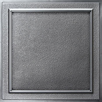 Terrace Ceiling Tile - Antique Nickel