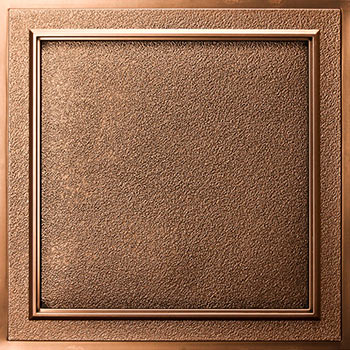 Terrace Ceiling Tile - Antique Bronze