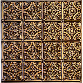 Verona Ceiling Tile - Antique Gold