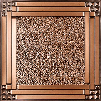 Palermo Ceiling Tile - Antique Copper