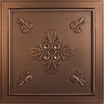 Veranda Ceiling Tile - Antique Bronze