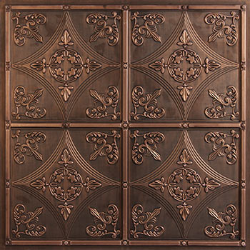 Cathedral Ceiling Tile - Antique Bronze