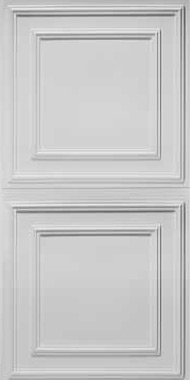 Cambridge Ceiling Tile - White (2x4)
