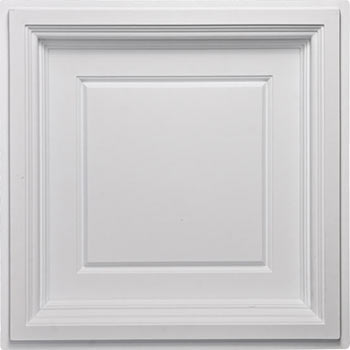 Madison Ceiling Tile - White