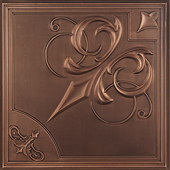 Paris Ceiling Tile - Antique Bronze