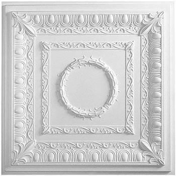 Regal Ceiling Tile - White